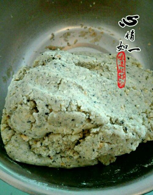 花生芝麻酥饼的做法图解6