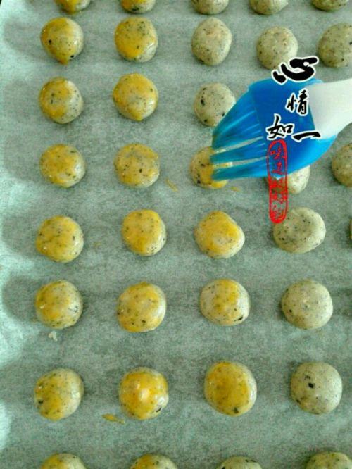 花生芝麻酥饼的做法图解9