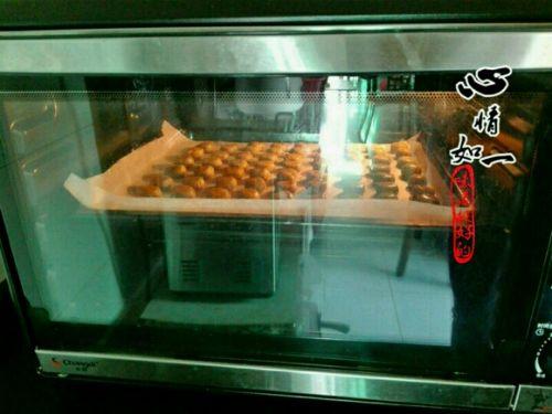 花生芝麻酥饼的做法图解10
