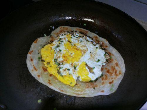 鸡蛋饼的做法图解7