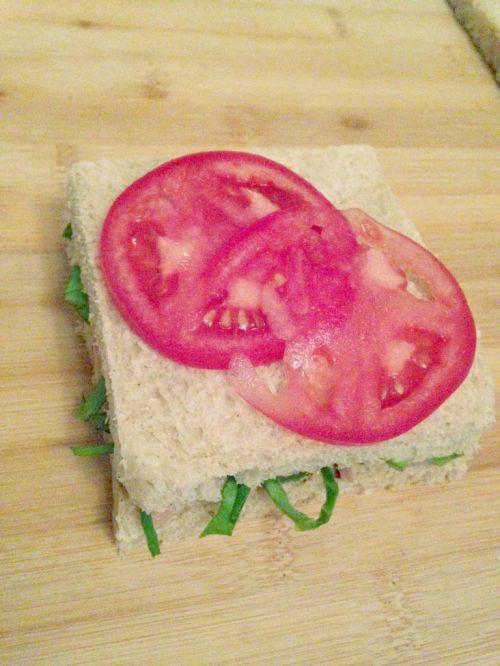 全麦金枪鱼三明治的做法图解6