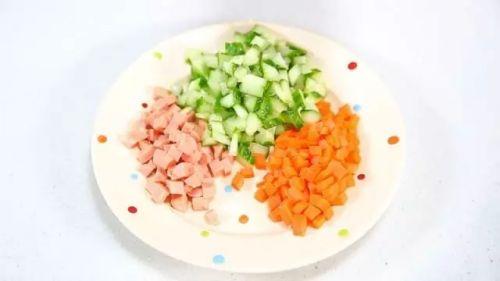 五色饭团的做法图解2