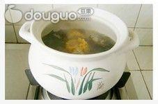 排骨豆腐海带汤的做法图解5