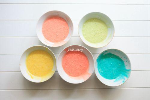 彩虹蛋糕的做法图解7