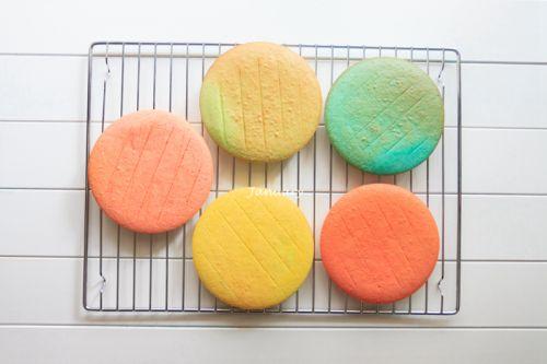 彩虹蛋糕的做法图解10