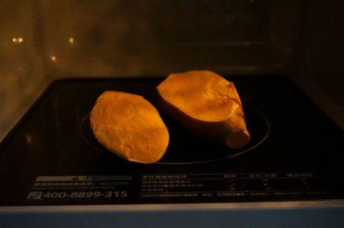 芝士焗番薯的做法图解2