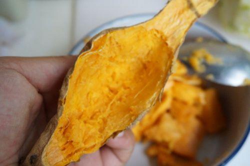 芝士焗番薯的做法图解3