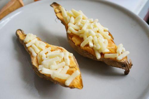 芝士焗番薯的做法图解5