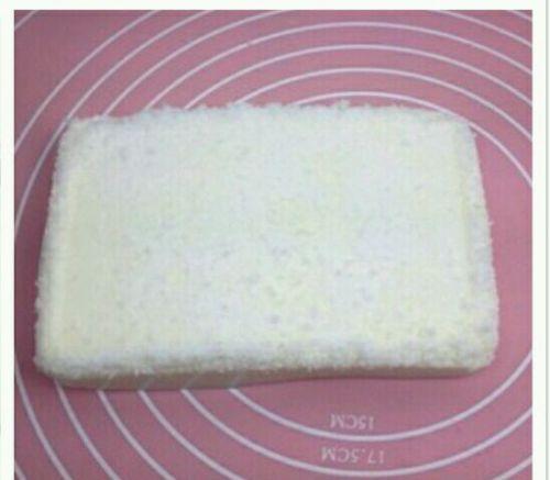 奶香椰蓉小方的做法图解9