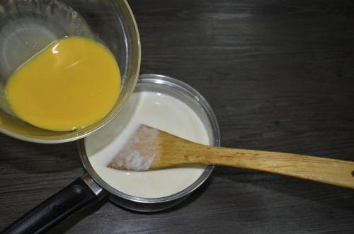 红豆蛋挞的做法图解3