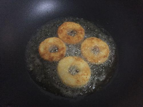 苹果甜甜圈的做法图解8