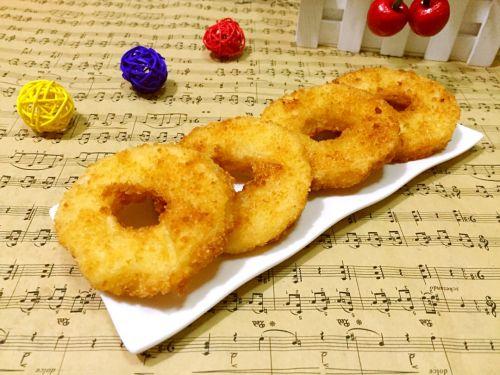 苹果甜甜圈的做法图解9