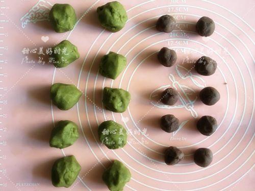 抹茶绿豆糕的做法图解4