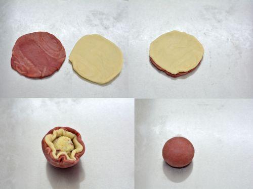 荷花酥的做法图解7