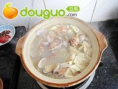 蛤蜊海鲜汤的做法图解11