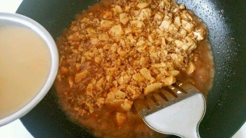 肉沫豆腐的做法图解8