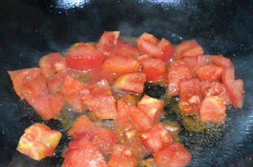 番茄龙利鱼面的做法图解5