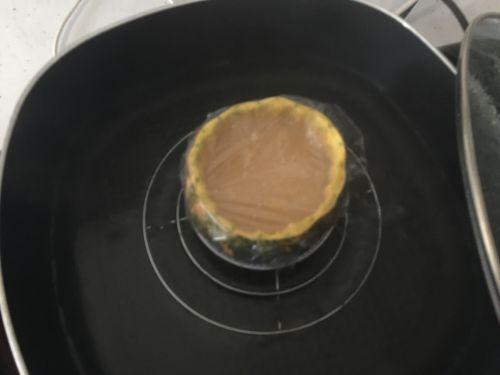 南瓜干贝蒸滑蛋的做法图解8
