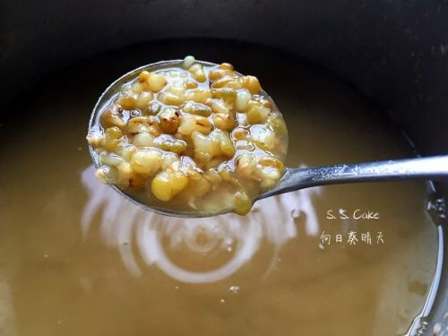 巧煮绿豆汤(高压锅版)的做法图解3