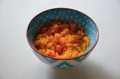 蟹黄豆腐的做法图解2