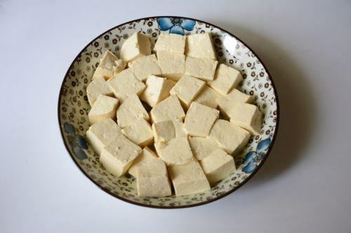 蟹黄豆腐的做法图解5