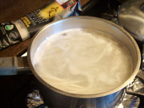 葱油拌面的做法图解4