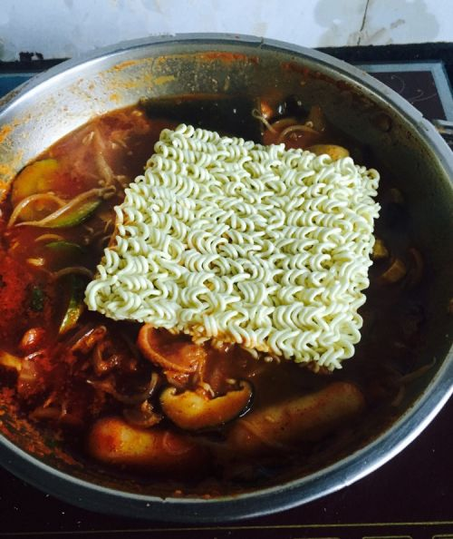 韩国泡菜火锅的做法图解5