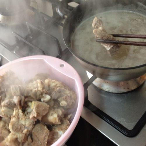 冬日羊肉火锅的做法图解3