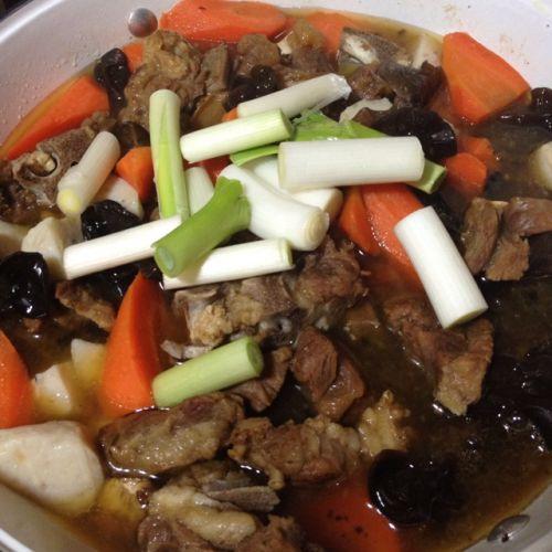 冬日羊肉火锅的做法图解7