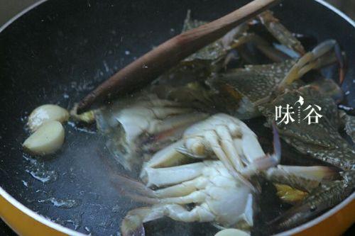 爆炒香辣蟹的做法图解4