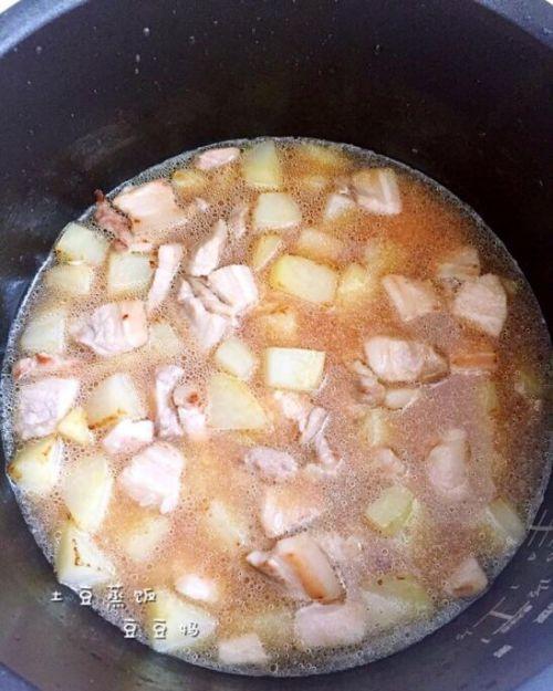 土豆蒸饭的做法图解12