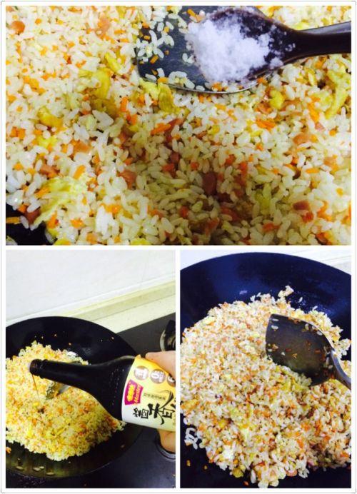 蛋炒饭的做法图解6