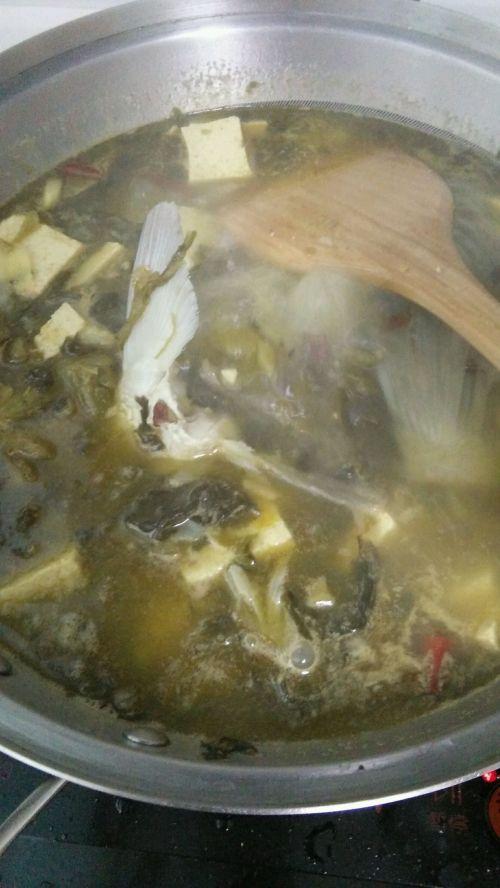麻辣酸菜鱼的做法图解7