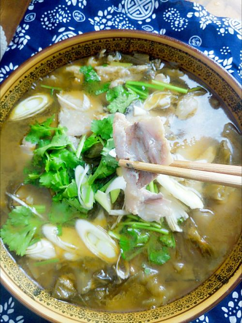 酸菜鱼的做法图解8