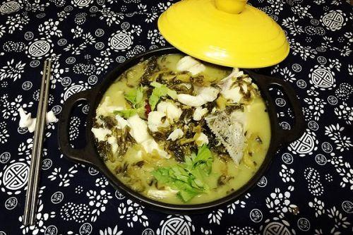 堪比川菜馆的美味酸菜鱼