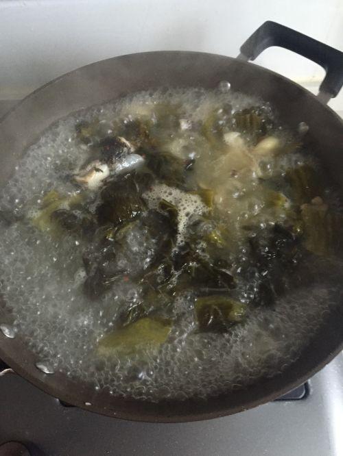 不辣版酸菜鱼的做法图解10