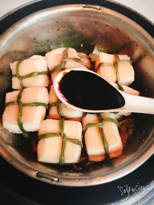 豆香东坡肉的做法图解7