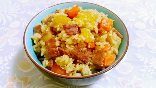 培根土豆焖饭 2 的做法
