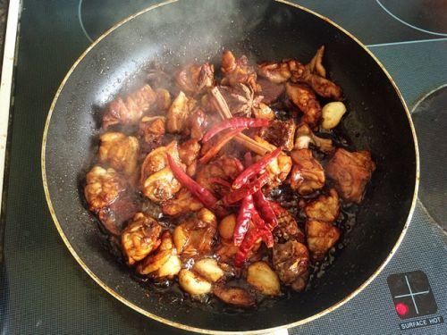 新疆大盘鸡的做法图解10