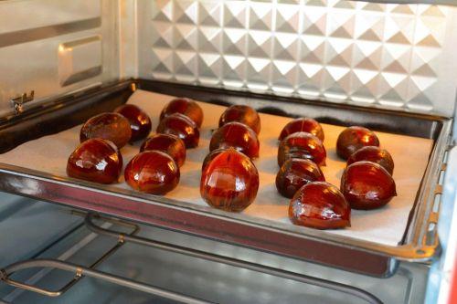烤箱版糖炒栗子的做法