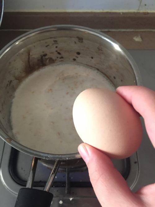 预防动脉粥样硬化食谱:牛奶燕麦粥的做法图解3