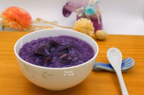 紫薯粥的做法图解5