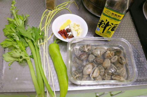 辣炒花蛤的做法图解1