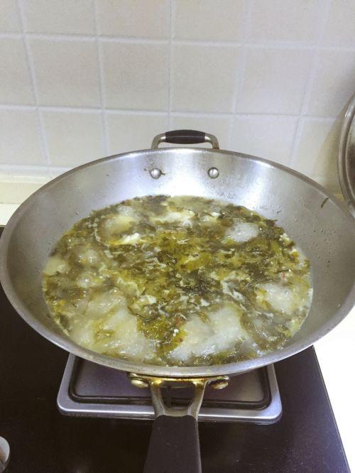 简单版酸菜鱼的做法图解10