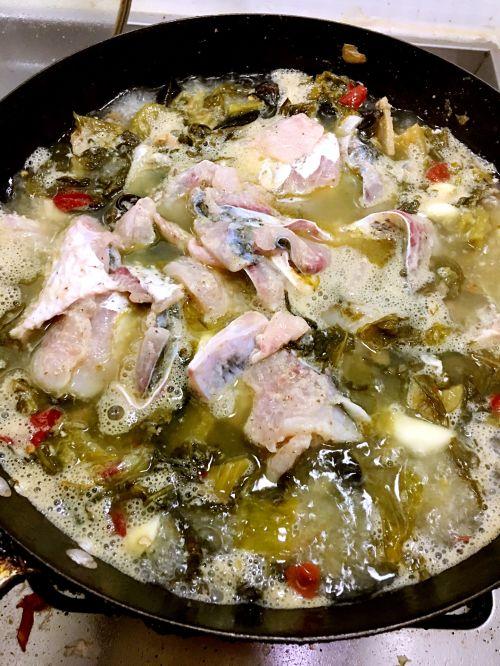 家常酸菜鱼的做法图解6