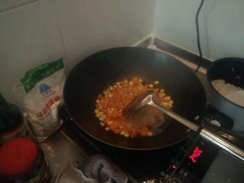 彩色蛋炒饭的做法图解5