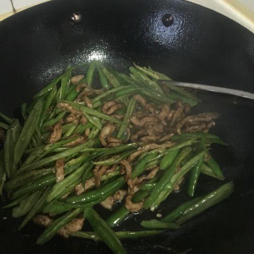 青椒肉丝的做法图解6