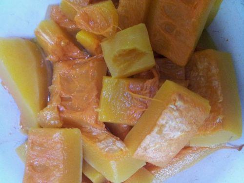 南瓜浓汤的做法图解1