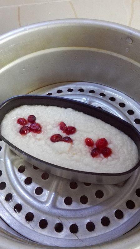 粘米粉牛奶发糕的做法图解9
