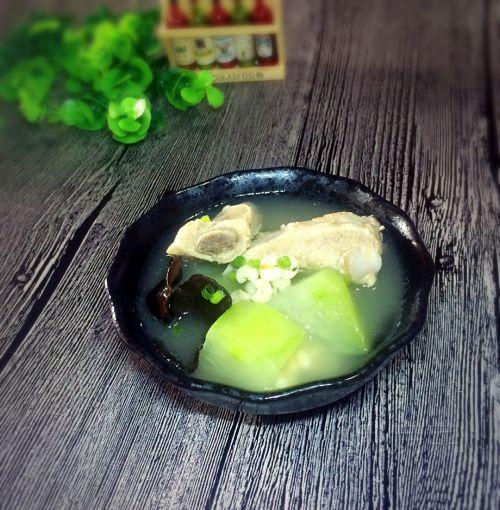 排骨冬瓜薏米汤的做法图解5